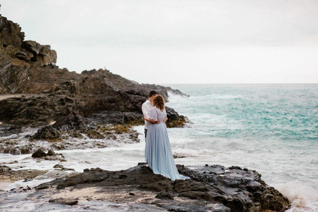 halona beach cove wedding session, Sesja ślubna na Hawajach, wedding sesion Hawaii, Hawaii wedding photographers