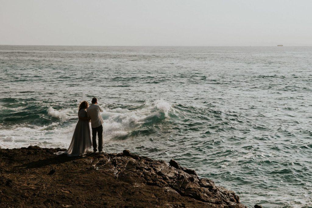Ślub na Hawajach, Sesja ślubna na Hawajach, wedding sesion Hawaii, halona blowhole