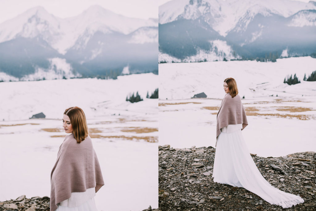 Sesja ślubna w górach, plener w górach