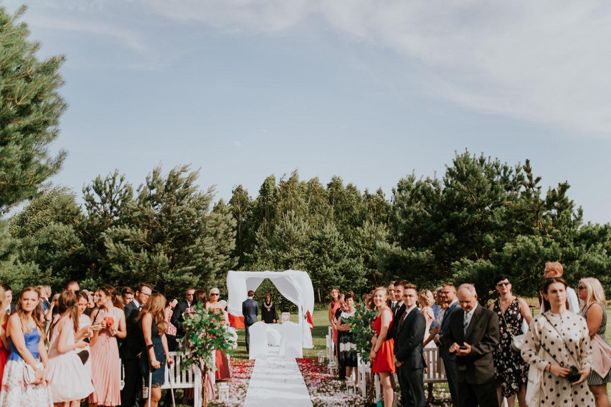 Ślub w plenerze Warszawa Hotel Artis Ślub plenerowy Ślub w ogrodzie