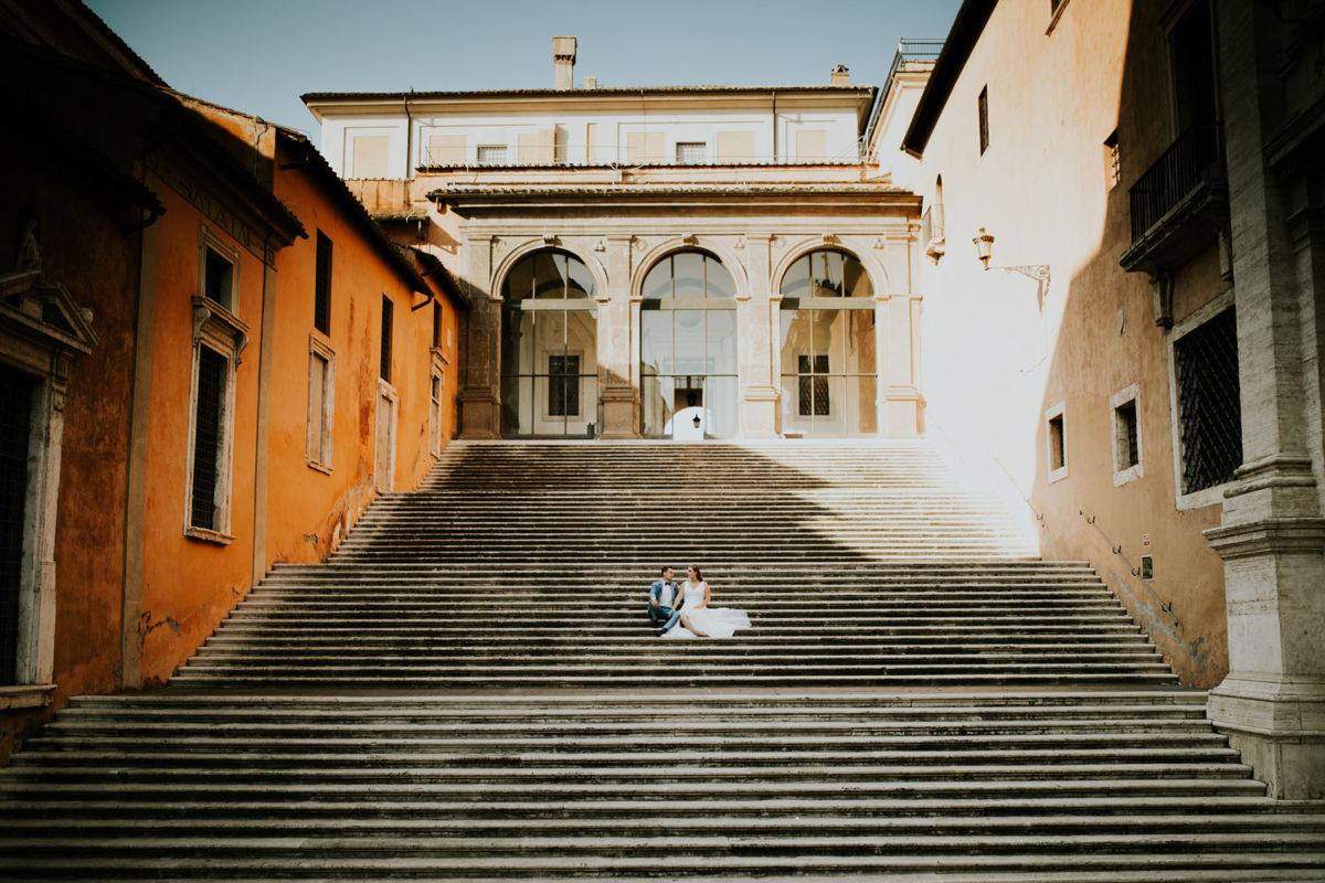 Sesja Ślubna w Rzymie, Polski Ślub w Rzymie, Sesja plenerowa Rzym, Wedding session Rome, Sesja ślubna za granicą